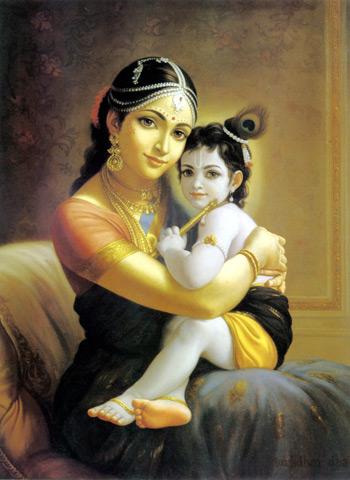 Devaki & Krishna